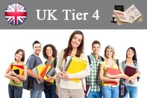 Tier 4 visa England