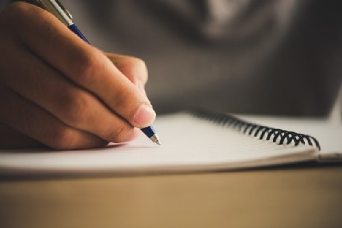 تقویت writing در زبان انگلیسی