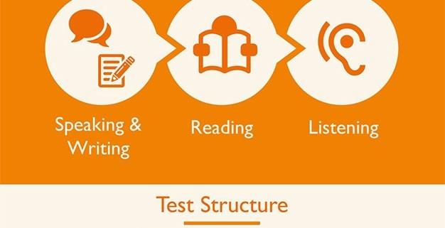 ساختار آزمون پی تی ای