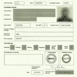 ارسال کارنامه آیلتس