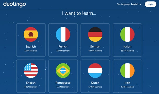 اپلیکیشن یادگیری زبان