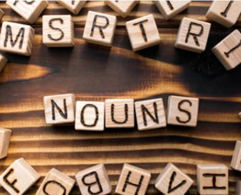 انواع اسم در زبان انگلیسی