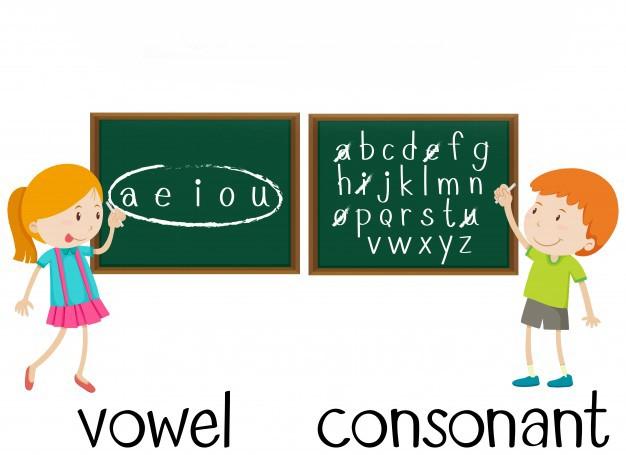 تفاوت صامت و مصوت در زبان انګلیسی